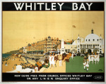 Whitley Bay - Promenade by National Railway Museum