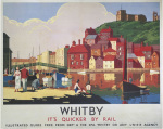 Whitby - It's Quicker by Rail