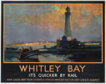Whitley Bay - Lighthouse by National Railway Museum