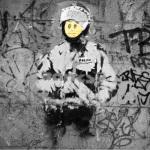 Banksy - Riot Cop