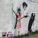 Banksy - Police Search