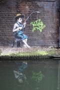 Banksy - Camden Lock