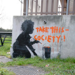 Banksy - Holland Park (Colour) by Panorama London