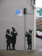 Banksy - Flag by Panorama London