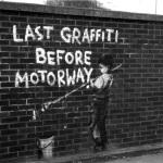 Banksy - Last Graffiti