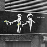 Banksy - Old Street 1 by Panorama London