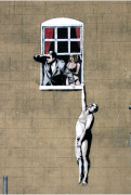 Banksy - Park Street 3 by Panorama London