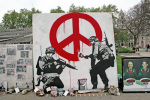 Banksy - Parliament Square (Colour)