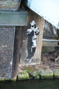 Banksy - Regents Canal (Colour) by Panorama London