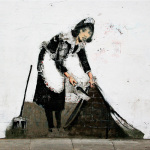 Banksy - Regents Park Road