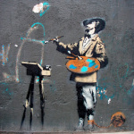 Banksy - Victoria Park