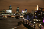 South Bank - Night by Panorama London