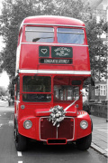 Wedding Special Bus by Panorama London