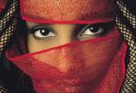 Veiled Tunisian Woman by Matthias Stolt