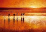 Camel Crossing by Jonathan Sanders