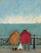 Doris Earwigging by Sam Toft