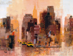 New Yorker & Cabs by Colin Ruffell