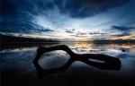 Beach Reflection by Marina Cano
