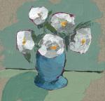 Becky's Blue Vase by Lara Bowen