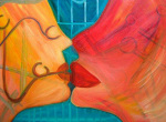 Mental Kiss by Rina Bakis