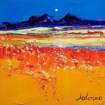 Autumn Evening, Isle of Colonsay by John Lowrie Morrison