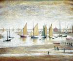 Yachts at Lytham