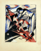 Noah with the Foxes by Franz Marc