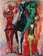 Horse with Jugglers by Marino Marini
