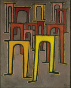Revolution des Viadukts (Revolution of the Viaduct), 1937 by Paul Klee