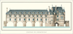 Chateau de Chenonceau by Anonymous