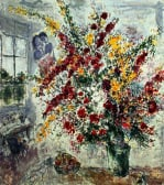 Window Bouquet by Marc Chagall