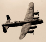Lancaster Bomber by Anonymous
