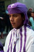 Easter Procession, Chichicastenango, Guatemala by Sergio Pitamitz