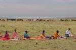 Masai women, Masai Mara, Kenya by Sergio Pitamitz