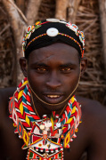 Samburu Tribesman, Loisaba Wilderness Conservancy, Laikipia, Kenya by Sergio Pitamitz