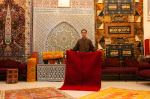 Palais Saadiens carpet shop, Medina Souk, Marrakech, Morocco by Sergio Pitamitz