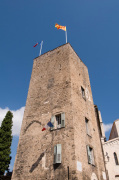 Hotel de Ville tower, Grasse, Provence, France by Sergio Pitamitz