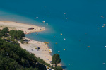 Lake Sainte Croix, Provence, France by Sergio Pitamitz