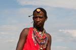 Masai man, Masai Mara, Kenya by Sergio Pitamitz