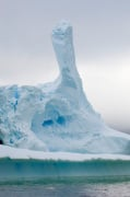 Icebergs near Pleneau Island, Lemaire Channel, Antarctica by Sergio Pitamitz
