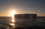 Iceberg on Bransfield Strait, Antarctica by Sergio Pitamitz