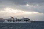 Europa cruise ship, Tierra del Fuego, Patagonia, Chile by Sergio Pitamitz