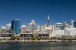 Skyline, Darling Harbour, Sydney, New South Wales, Australia by Sergio Pitamitz