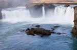 Godafoss waterfalls, Iceland by Sergio Pitamitz
