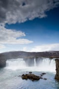 Godafoss waterfalls, Iceland by Sergio Pitamitz