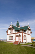 Husavik church, Iceland by Sergio Pitamitz
