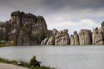 Sylvan Lake, Custer State Park, Black Hills, South Dakota, USA by Sergio Pitamitz