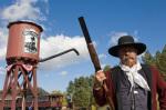 Cowboy, 1880 Train Station, Hill City Black Hills South Dakota, USA by Sergio Pitamitz