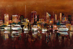 Harbour Night by Georgie