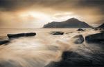 Sepia Sea, Lofoten Islands by Andreas Stridsberg